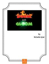 Doom and Gloom: Beginner Piano Piano Solo