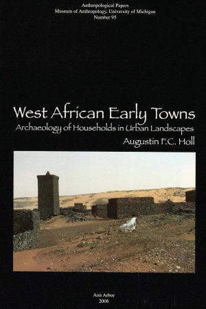West African Early Towns