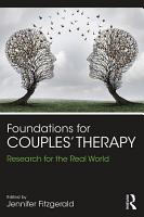 Foundations for Couples  Therapy PDF