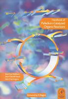 Handbook of Palladium Catalysed Organic Reactions PDF