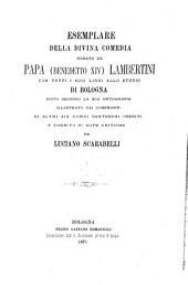 La divina comedia: donato da Papa (Benedetto XIV) Lambertini con tutti i suoi libri allo studio di Bologna : edito secondo la sua ortografia. Purgatorio, Volume 2