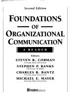 Foundations of Organizational Communication PDF