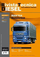 Manuale di riparazione MAN TGA - RTD9: motore D20