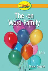 The -en Word Family