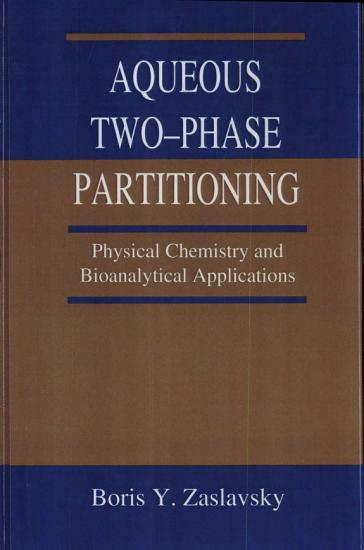 Aqueous Two Phase Partitioning PDF
