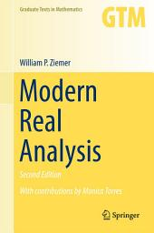 Modern Real Analysis: Edition 2