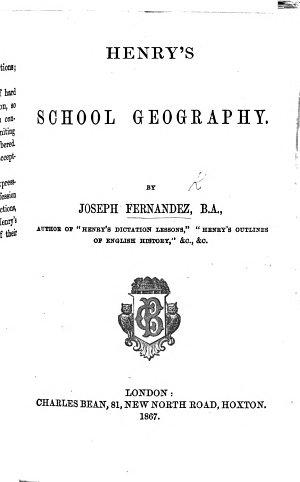 Henry s School Geography