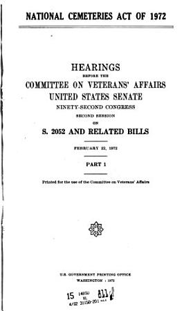 National Cemeteries Act of 1972 PDF