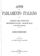 Atti parlamentari: Volume 7