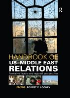 Handbook of US Middle East Relations PDF