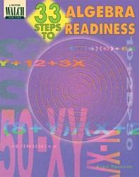 33 Steps to Algebra Readiness