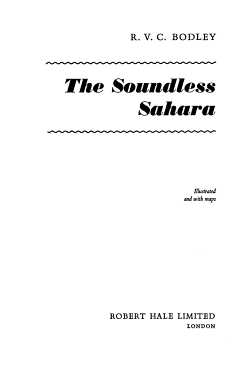 The Soundless Sahara PDF