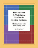 How to Start   Maintain a Profitable Sewing Business PDF