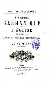 L'Empire germanique et l'Église au Moyen Age