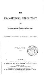 The Evangelical repository and Sunday school institute magazine