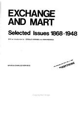 Exchange And Mart Selected Issues 1868 1948 Book PDF