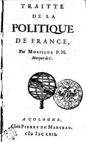 TRAITTE DE LA POLITIQUE DE FRANCE: Page1