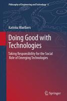 Doing Good with Technologies  PDF