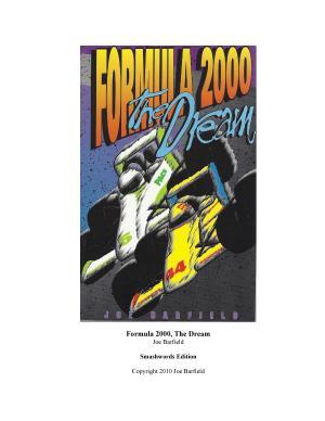 Formula 2000  the Dream PDF