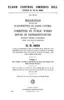 Flood Control Omnibus Bill (title II-H.R. 9859)