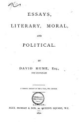Essays, Literary, Moral, and Political