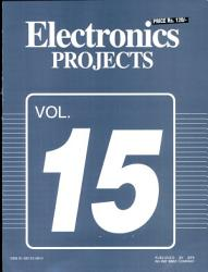 Electronics Projects Vol 15 Book PDF