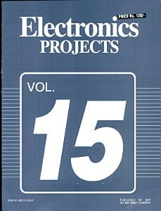 Electronics Projects Vol  15 Book