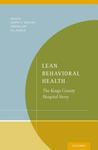 Lean Behavioral Health PDF