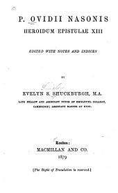 Heroidum epistulae XIII