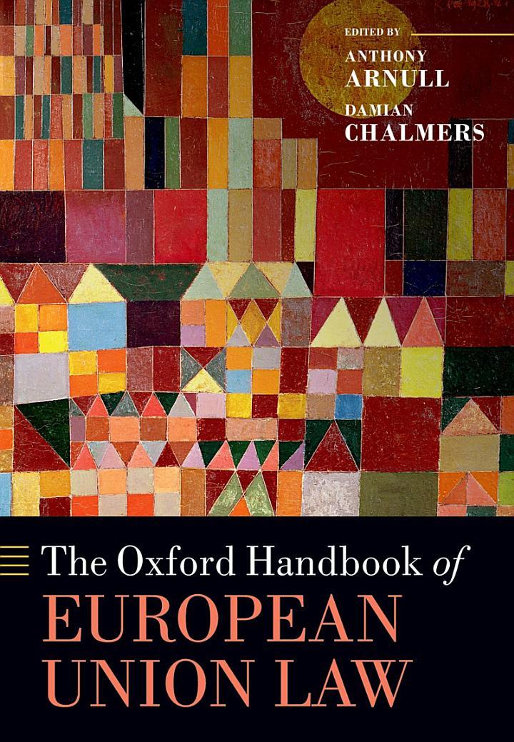 The Oxford Handbook of European Union Law