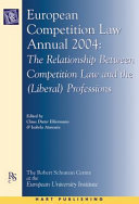 European Competition Law Annual 2004