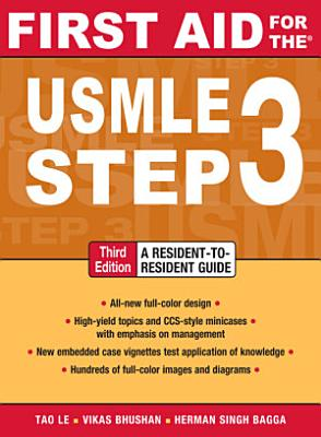First Aid for the USMLE Step 3  Third Edition PDF