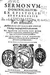 Sermonum dominicalium, ex epistolis, et euangeliis totius anni: pars aestiualis