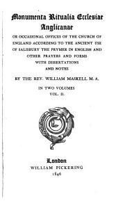 Monumenta ritualia Ecclesiae Anglicanae ...