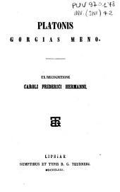 Platonis Gorgias, Meno
