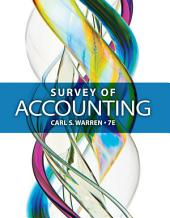 Survey of Accounting: Edition 7
