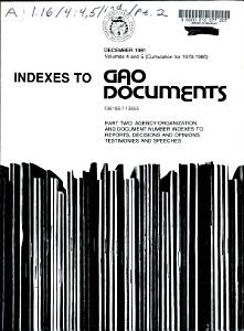 GAO Documents PDF