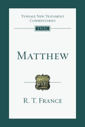Matthew: An Introduction and Commentary