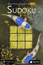 Daily Sudoku Puzzle Calendar 2016