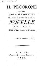 Il Pecorone di Ser Giovanni Fiorentino: Volume 1