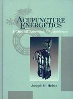 Acupuncture Energetics PDF