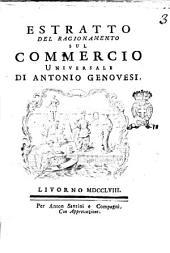 Estratto del ragionamento sul commercio universale di Antonio Genovesi