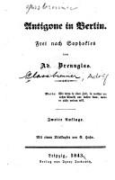 Antigone in Berlin PDF
