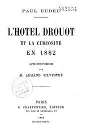 Paul Eudel. L'Hôtel Drouot et la curiosité en 1882