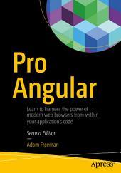 Pro Angular: Edition 2