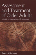 Assessment and Treatment of Older Adults