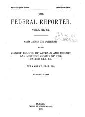 The Federal Reporter: Volume 55