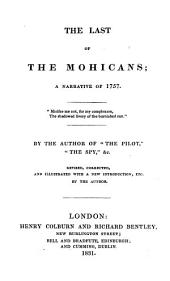 The Last of the Mohicans;: A Narrative of 1757 ...