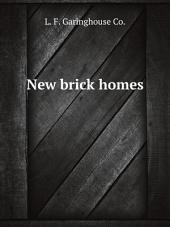 New brick homes