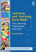 Learning and Teaching Early Math PDF